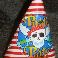 Pirat partyhatte stor