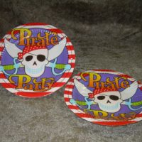 Pirat lille tallerken