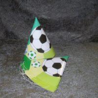 Fodbold lille partyhat