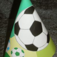 Fodbold stor partyhat