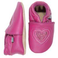 Melton Skindfutter Pink med hjerte