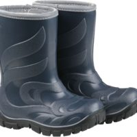Termo gummistøvle fra Mikk-line Mørk blå