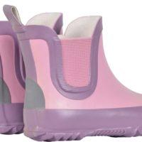 Mikk-line gummistøvle kort skaft lyserød
