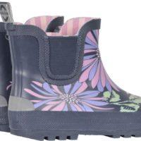 Mikk-line gummistøvle kort skaft blomstret