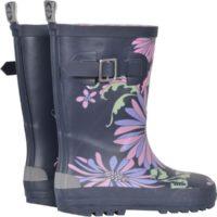 Mikk-line gummistøvle blomstret