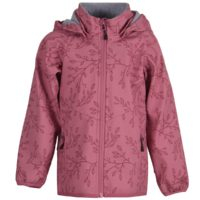 Mikk-line Softshell jakke m. fleece- Heather Rose