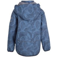 Mikk-line Softshell jakke m. fleece-Blue Heaven