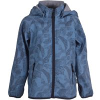 Mikk-line Softshell jakke m. fleece-Blue Heaven